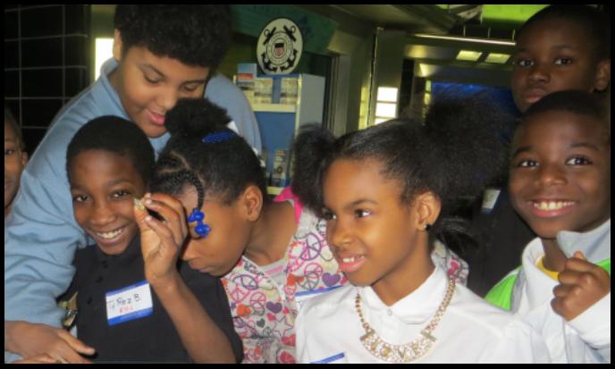 students at BIA
